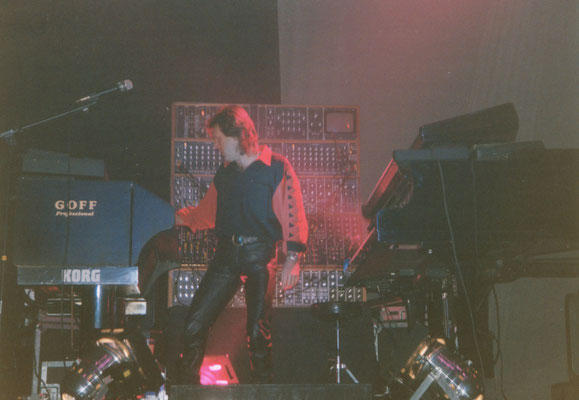 1992 Keith Emerson in Essen, Foto: Ulli Engelbrecht
