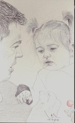 Mi nieta y mi hijo