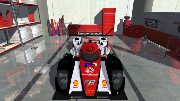 12h Spa Francochamps - Teammate Al Jenero, P3 LMP-Class