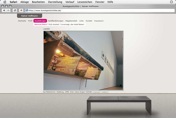 Webdesign, Bildergalerie