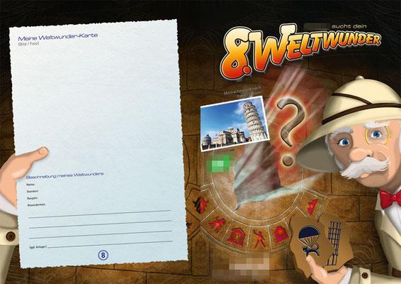 Gewinnspiel, offen DIN-A4, 4-seitig, Seite 4+1