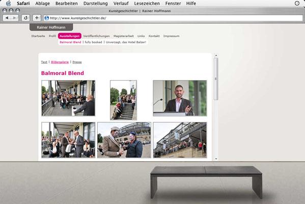 Webdesign, Bildergalerie (Übersicht)