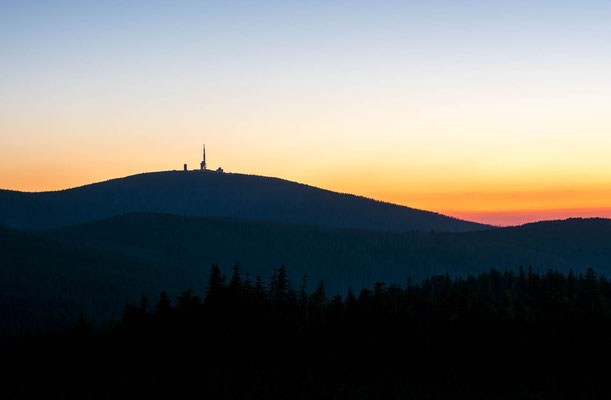 Brocken Sunset