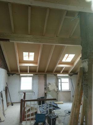 mit neuem Dach