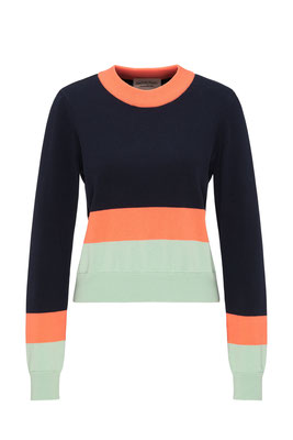 Crew neck knit #STRIPES € 89,90
