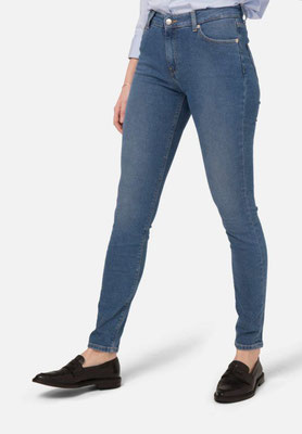 Skinny Hazen Mud Jeans pure blue front – € 119,00