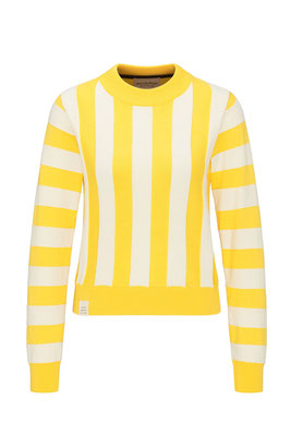 Crew neck knit #STRIPED € 85,90