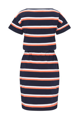 Heavy Jerseydress #STRIPES Rückansicht