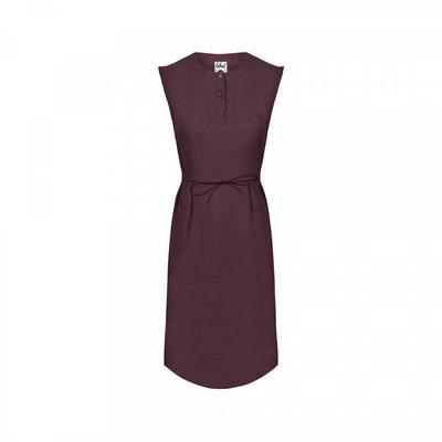 Lyocell (TENCEL™) Linen Kleid Damen Dunkellila –€ 99,90