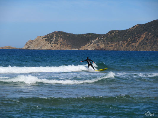 Surfing in Sardinia / Italy