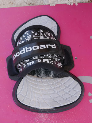 pad and footstrap