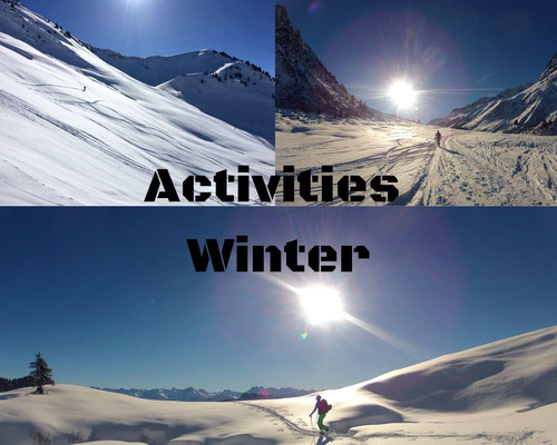 Activities Winter
