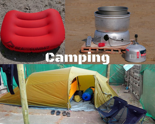 Camping reviews
