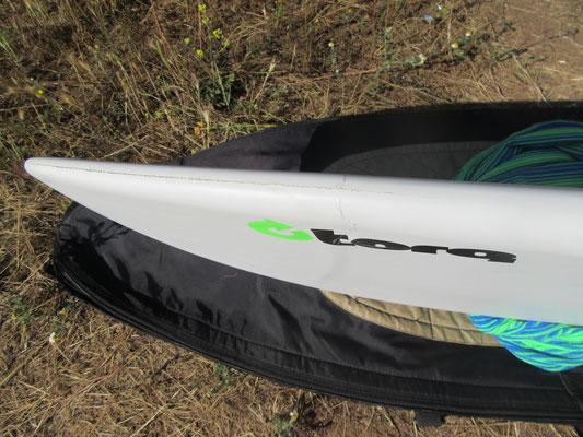 Repair of the surfboard