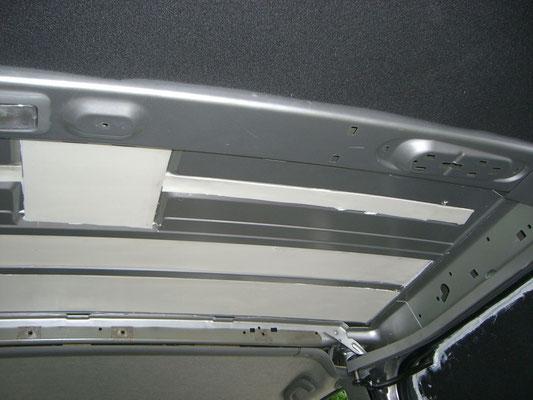 Renault Trafic L2H1 - Dämmung dick Decke