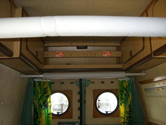 Fiat Ducato 280L - rack internally