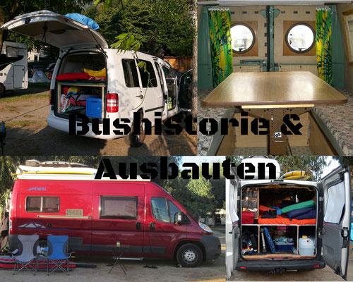 Bushistorie & Ausbauten