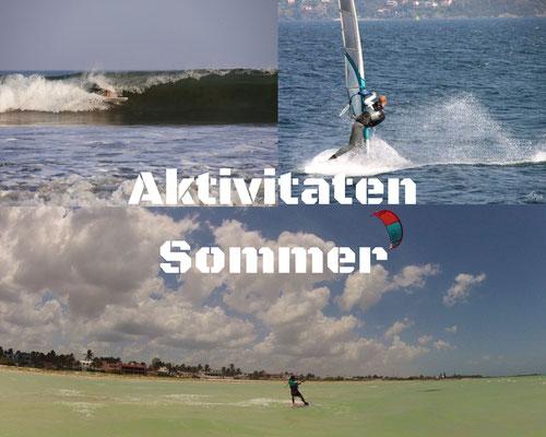 Aktivitäten Sommer