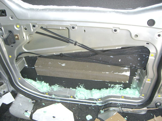 Renault Trafic L2H1 - Insulation