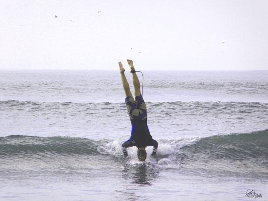 Longboarding in Peru