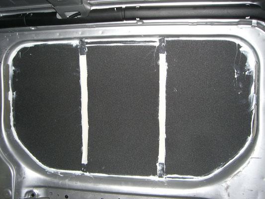 Renault Trafic L2H1 - Dämmung dick Seite