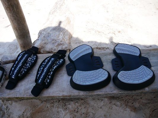 pads and footstraps