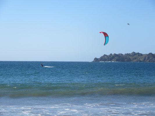 Kitesurfing in Pichidangui