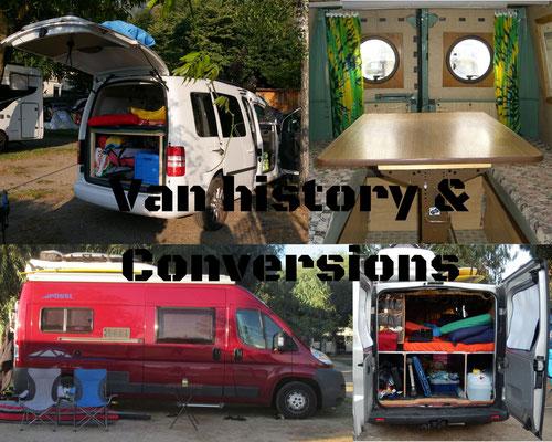 Van history & Conversions