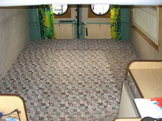 Fiat Ducato 280L - Master bedroom