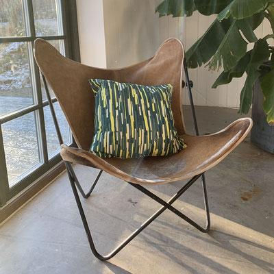 Kissen mit geografischen Motiven von der schwedischen Designerin Linda Pabst