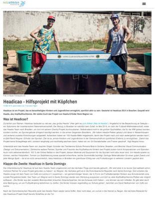 """""""Headicao bei CCL"""" - netzathleten Magazin - März 2016"""