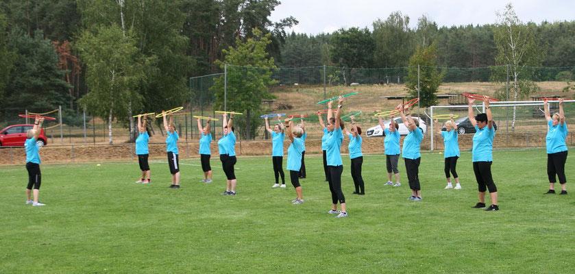 Die Stütze unseres Vereins - die Damengymnastikerinnen