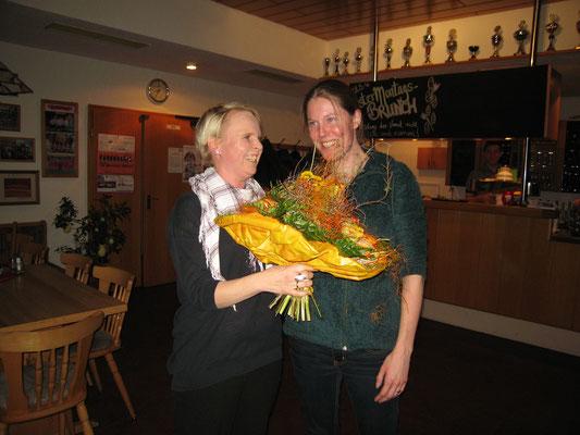 Ein herzliches Dankeschön     an unsere Wirtin Jana Freytag   für die Bewirtung trotz Krankheit
