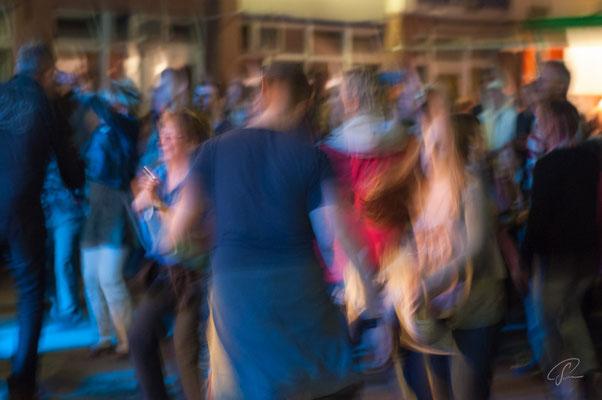 Tanzen beim Jazz Festival