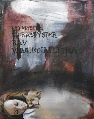 menschen die mutter sagen III . 2012 . 100x80 . oil on canvas