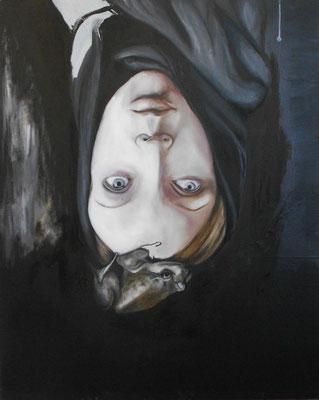 menschen die mutter sagen II . 2012 . 100x80 . oil on canvas