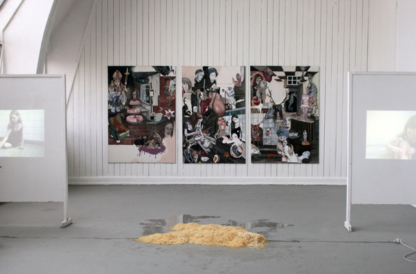 installation view, Academy Of Fine Arts Hamburg, 2013