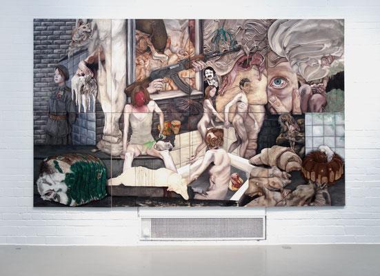 installtion view . Kunsthalle Wilhelmshaven . 2017