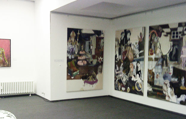 installation view, salondergegenwart, Hamburg, 2013