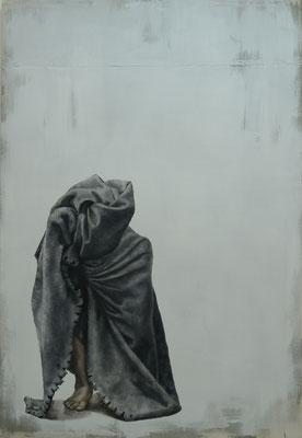 Nach Scheiße kommt Tod. . 2017 . 160x110 . oil on canvas