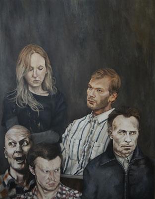 disarm . 2015 . 140x110 . oil on canvas