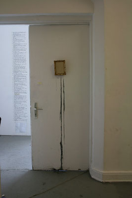 (the manifest of) happy painting room installation for bachelor degree (non-public) . 2013 . hfbk hamburg