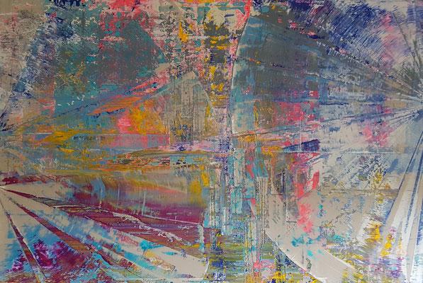 KERSTIN SOKOLL, Urban Style, 2020, S003, 80 x 120 cm, SOLD