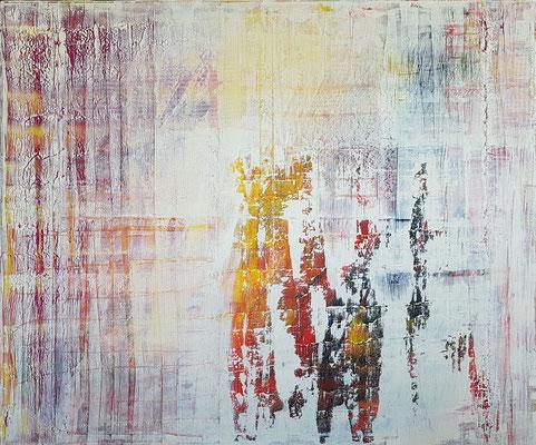 KERSTIN SOKOLL, friends, 2019, O009, 100 x 120 cm, SOLD