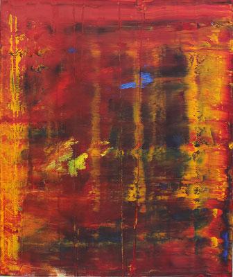 KERSTIN SOKOLL, Fire & Fury, 2018, O003, 120 x 100 cm