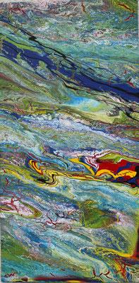 KERSTIN SOKOLL, Symbiose, 2017, E001, 30 x 60cm
