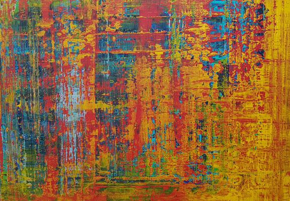 KERSTIN SOKOLL, In The Heat of The Night, 2019, P004, 100 x 140 cm, SOLD
