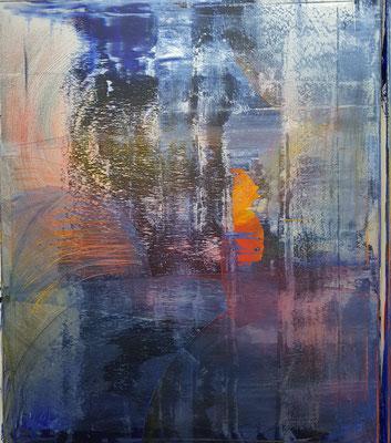 KERSTIN SOKOLL, sunrise, 2020, O013, 120 x 100 cm, SOLD