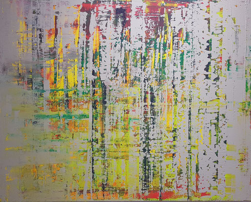 KERSTIN SOKOLL,A Memory of Spring_2020, N010, 80 x 100 cm, SOLD