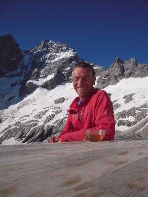 Didier, valeureux gardien du refuge du Pavé...